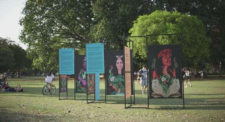 A exposição ficará disponível para visitação até 15 de setembro