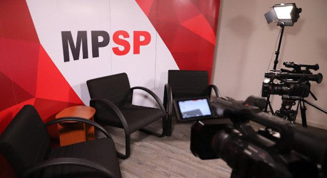 O novo estúdio do MP, que vai ampliar a comunicação com a sociedade
