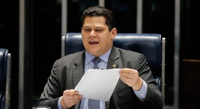 Presidente do Senado, Alcolumbre acredita em aprovação da reforma