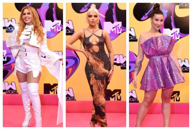 Aconteceu na noite desta quinta-feira (23), a edição 2021 do MTV MIAW. Uma legião de famosos caprichou no composição dos looks para desfilar no pink carpet do evento.Entre os convidados, estavam Joelma, Luisa Sonza,Bianca Andrade, entre outros