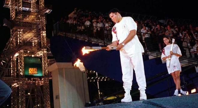 O esforço de Muhammad Ali em Atlanta/1996