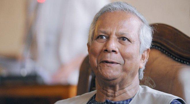 Muhammad Yunus tem 80 anos e é conhecido como 'o banqueiro dos pobres'