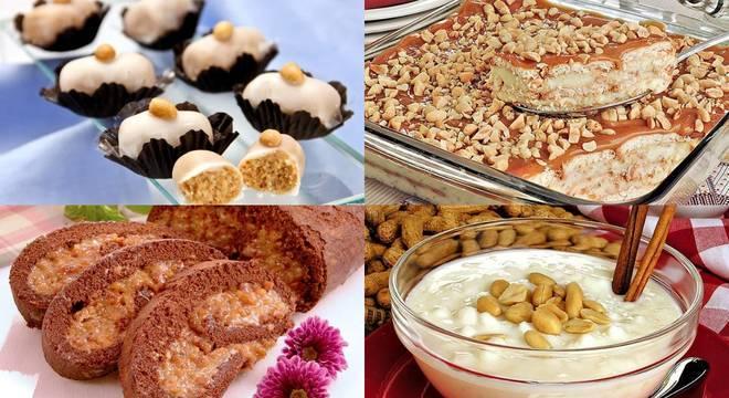 Muito além da paçoca! Experimente sobremesas diferenciadas com amendoim