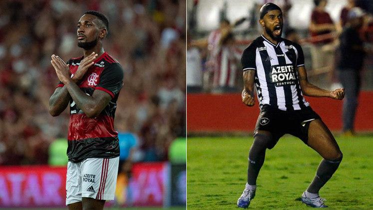 Muito elogiado no ano passado, o rubro-negro Gerson levou a melhor sobre Alex Santana, do Botafogo.