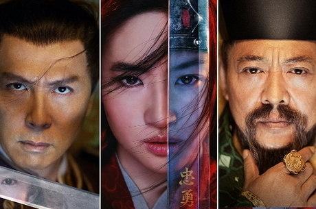Donnie Yen, Yifei Liu e Jet Li são estrelas de 'Mulan'