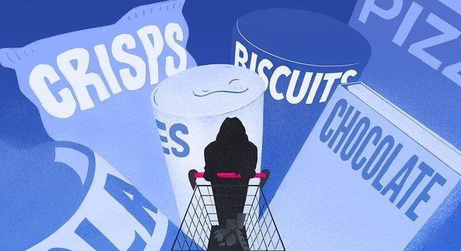 """""""Supermercados eram meu pior pesadelo"""", diz Sarah, uma comedora compulsiva"""