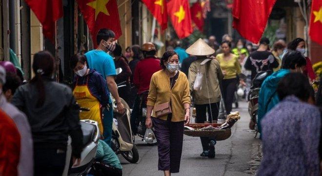 No Vietnã, é obrigátório o uso de máscara