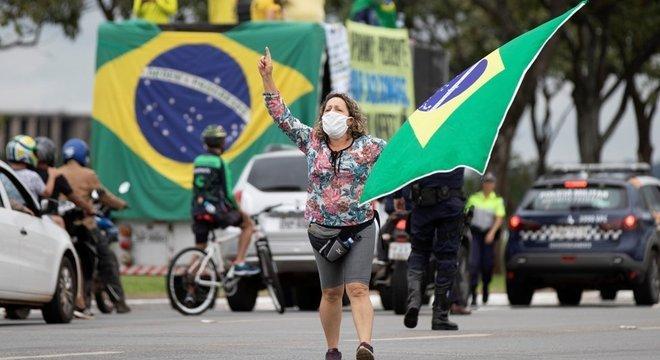 O Brasil passou a ser visto como um perigo para seus vizinhos na América do Sul