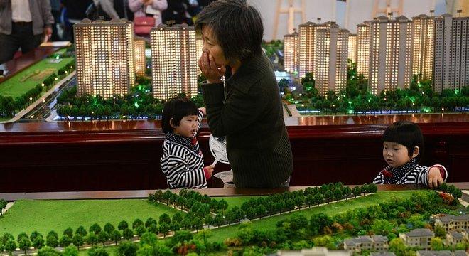O percentual de chineses que compram seu primeiro imóvel caiu pela metade entre 2013 e 2014