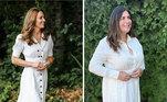 Kate Middleton é uma das famosas que Saturino já
