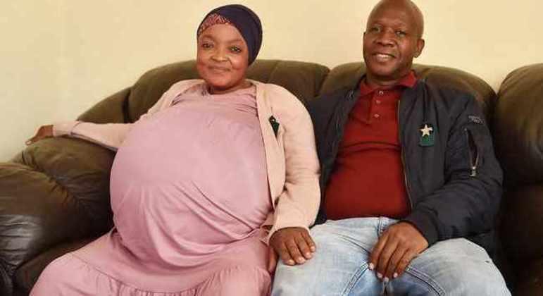 Mulher sul-africana deu à luz 10 bebês e quebrou recorde mundial de nascimentos múltiplos