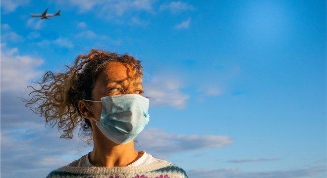 Viagens foram limitadas em todo o mundo por causa da pandemia de covid-19