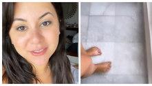 Mulher de Zé Neto mostra quarto alagado após furacão no México