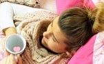 mulher, gripe, meningite, febre