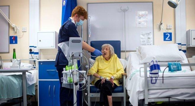 Quase metade dos pacientes do grupo 6 de sintomas foi parar no hospital