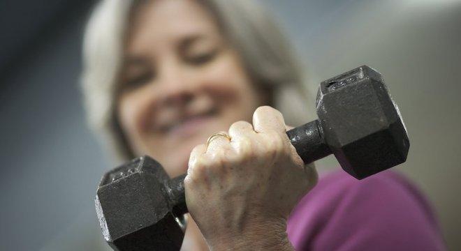 Estudo apontou que o aumento da potência muscular é importante para a longevidade
