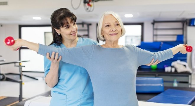 Estudo mostrou maior taxa de sobrevivência em pessoas com maior potência muscular