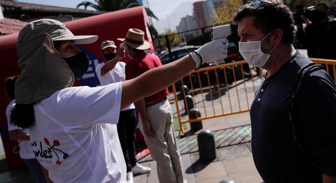 Chile registrou mais de 3 mil novos casos de coronavírus nas últimas 24h