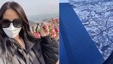 Mulher viaja 9,5 mil km e remove memória com ex de ponto turístico