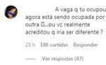 Alguns seguidores também se lembraram de quando Naldo deixou a ex-mulher, Branka Silva, para ficar com Ellen