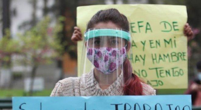 Lockdown afetou fortemente economia peruana