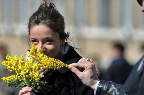 8 de março: flores são tradição