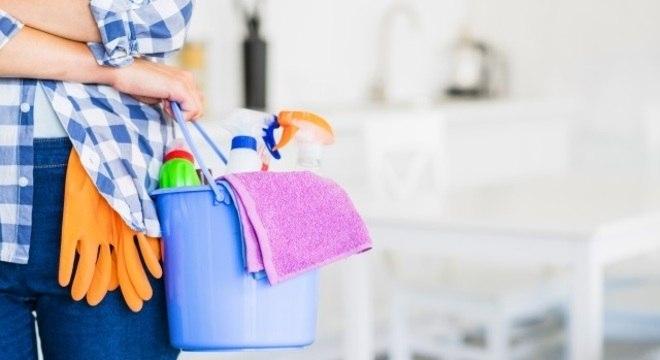 Aproveite os descontos em produtos de limpeza e deixe sua faxina mais prática