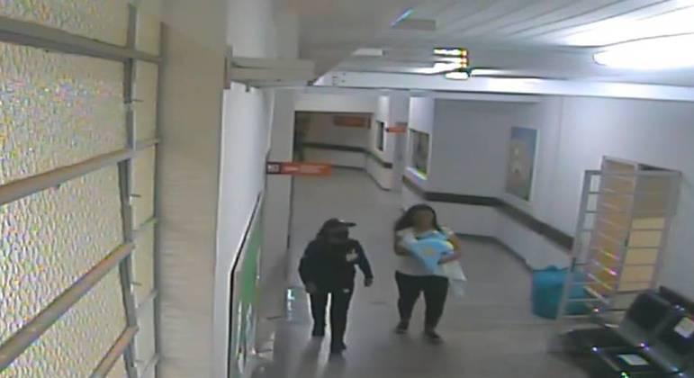 Mulher tenta sequestrar bebê de hospital em Curitiba