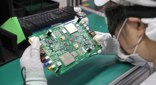 China é importante fornecedor de componentes para a indústria eletroeletrônica no Brasil