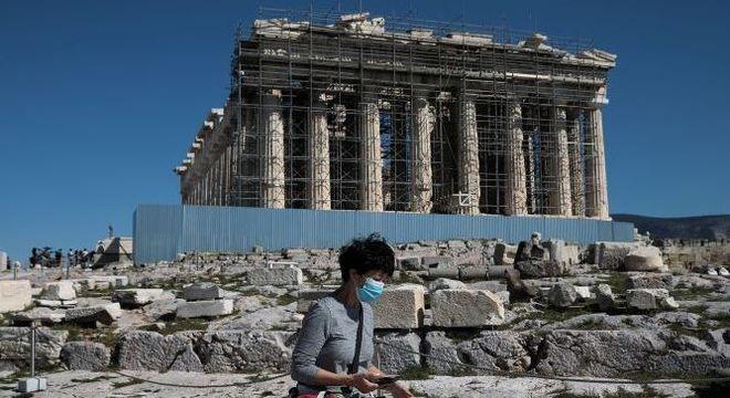 Etapa da Grécia de revezamento da tocha olímpica foi cancelada devido ao coronavírus