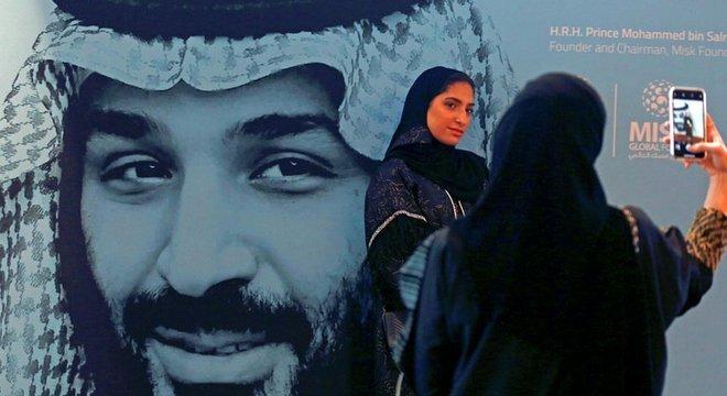 Mohammad bin Salman é o atual príncipe herdeiro da Arábia Saudita, país de maioria sunita