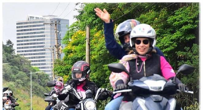 Mulheres motociclistas já somam quase oito milhões de habilitadas / Arquivo Pessoal