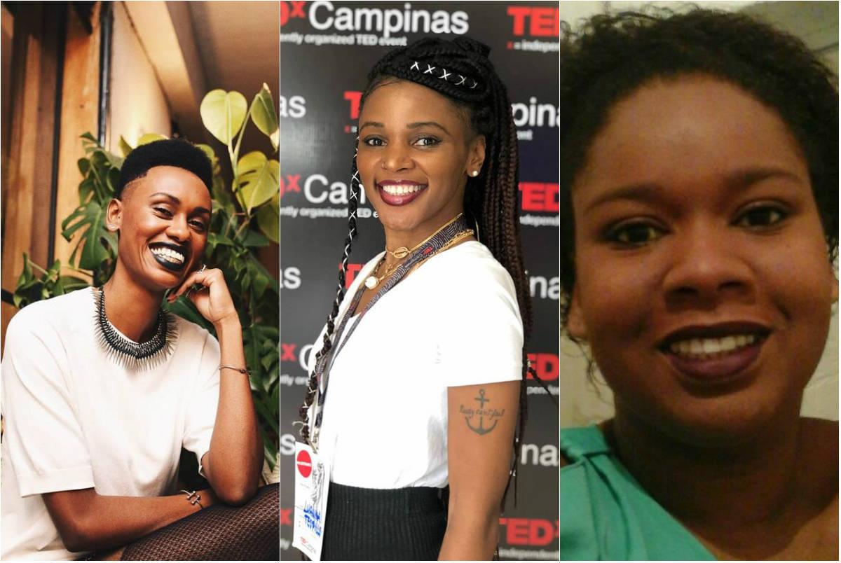 Regina Ferreira, Luanna Teofilo e Bruna Inácio, mulheres empreendedoras
