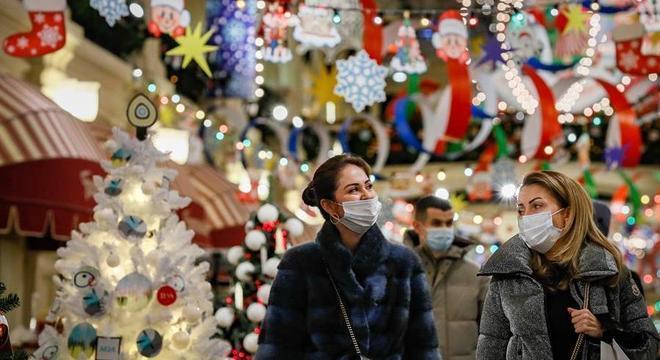 A capital Moscou é epicentro da pandemia na Rússia