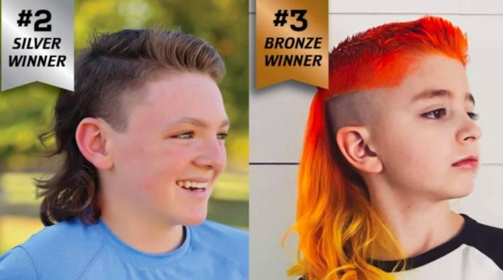 O segundo lugar ficou com Noah, 12, de Illinois, e o vencedor do terceiro lugar foi Jude, de 7