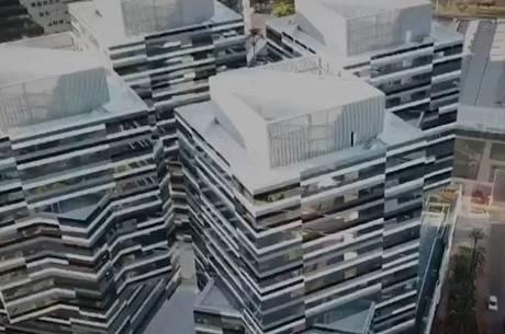 Imagem do novo prédio da PF em Brasília