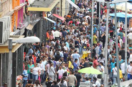 População cresceu de 208 mi para 210 milhões em 2019