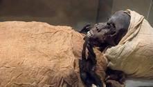 Tomografia no Egito revela as causas da morte de um faraó