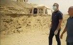 Lá, foram enterradas múmias por cerca de 3.000 anosVEJA ISSO:Criaturas sinistras com aparência 'alien' são vistas em praia da Europa
