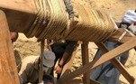 Ao menos 13 caixões foram encontrados, na região do deserto deSaqqaraVALE O CLIQUE:Fotos hilárias e batalha de 2 horas: a caça a um crocodilo gigantesco
