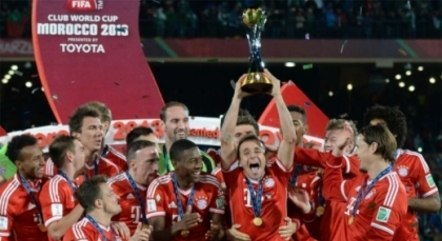 Bayern foi campeão mundial pela última vez em 2013