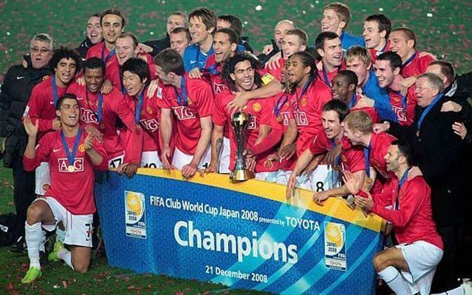 MUNDIAL DE CLUBES FIFA - Em 2008, na esteira do título da Champions pelo Manchester United em cima da LDU.