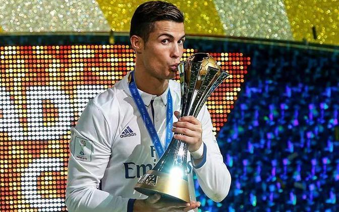 MUNDIAL DE CLUBES FIFA - Na bagagem, mais três títulos com o Real Madrid, em 2014, 2016 e 2017.