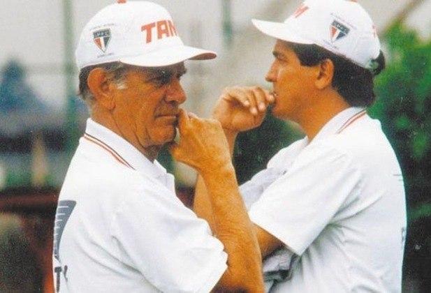Muricy começa sua trajetória como treinador no começo da década de 90, auxiliando Telê Santana. Em 1997, foi efetivado como técnico principal, mas fez um Paulistão ruim e acabou demitido.