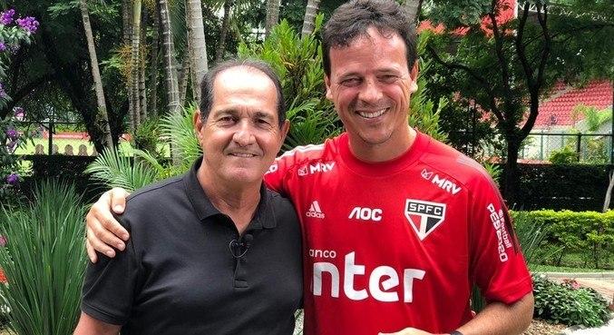 Sonho de Muricy Ramalho é ficar os próximos três anos com Diniz como técnico