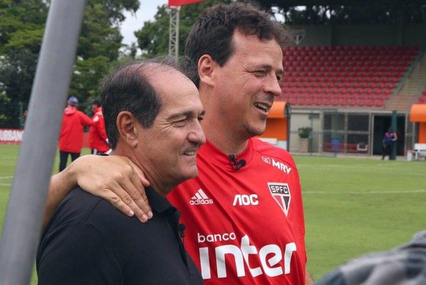 Com a ida de Ceni ao Flamengo, Muricy defende a permanência de Diniz