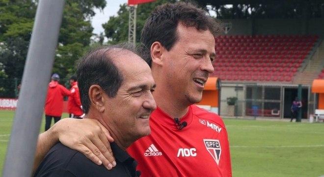 Muricy e Fernando Diniz podem trabalhar juntos no São Paulo em 2021