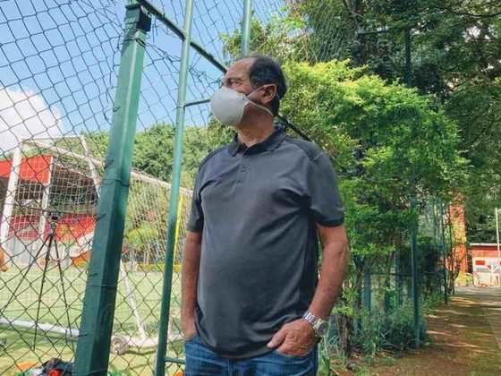 MURICY RAMALHO: O treinador se aposentou da beira dos gramados, foi comentarista por um tempo e hoje é coordenador de futebol do São Paulo.