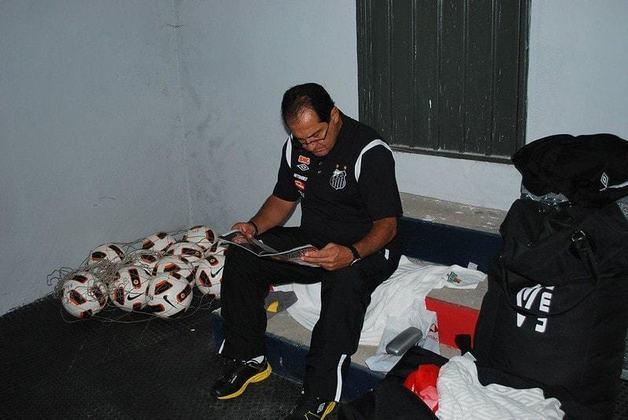 Muricy também é ídolo no Santos, onde comandou a geração de Neymar e cia para o título da Libertadores de 2011.