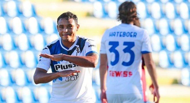 Muriel, um dos goleadores colombianos da Atalanta